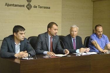 Ayuntamiento y agentes socioeconómicos de Terrassa firman un Pacto Local por la Ocupación