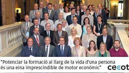 Cecot da luz verde a la Ley de formación y calificación de Cataluña