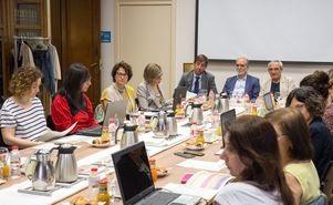 Reunión del jurado de la 14ª edición de los Premios Nuevos Profesionales a la Cecot