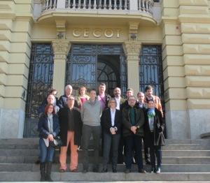 La Cecot acoge una delegación de representantes de PYMES de Rumania