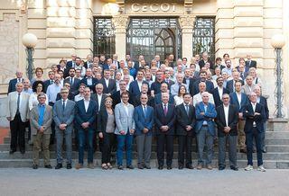Antoni Abad continuará presidiendo la Cecot los próximos cuatro años por aclamación de los miembros de la Asamblea de la patronal