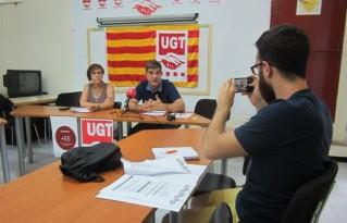 UGT impulsa una campanya per ajudar els desocupats de més de 55 anys