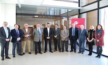 El alcalde de Terrassa reafirma ante la Cámara el compromiso municipal para impulsar la industria local