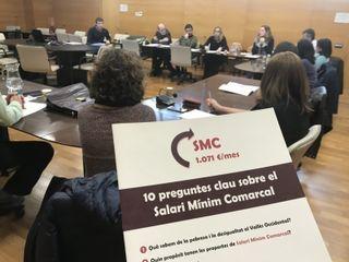 El Consell Comarcal estudia l'impacte que olla tenyir el Salari Mínim Comarcal en els contractacions municipals