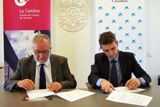 La Cámara y CaixaBank renuevan su colaboración para potenciar la internacionalización empresarial
