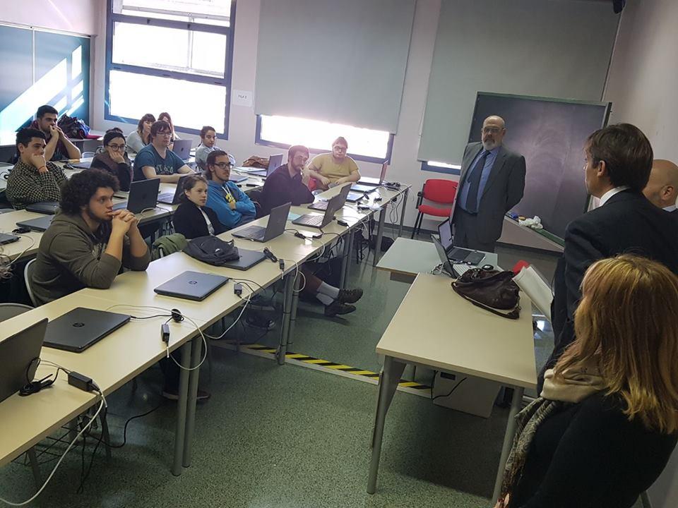Bienvenida al alumnado del curso de programación PHP que realiza el Servicio de Empleo-Foment del Ayuntamiento de Terrassa