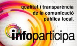 El Ayuntamiento de Terrassa recibe el sello Infoparticip 2015 en la calidad y transparencia en comunicación