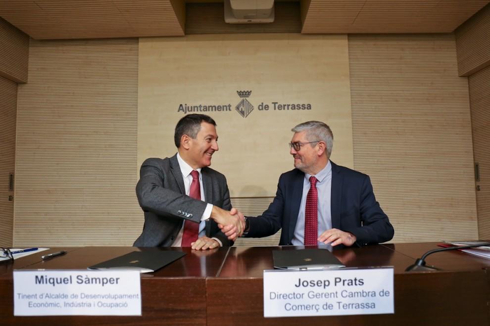El Ayuntamiento de Terrassa y la Cámara de Comercio promueven la internacionalización