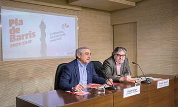 L'alcalde de Terrassa destaca la gran transformació urbanística i social de la Maurina fruit de les actuacions del Pla de Barris