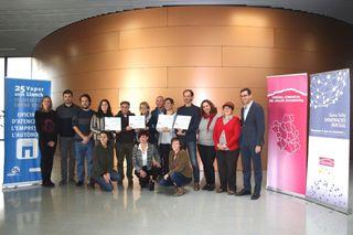 Els projectes guanyadors del Concurs d'Idees innovadores comencen a caminar amb assessorament personalitzat i una aportació econòmica