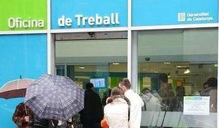 El paro bajó un 1,13% en Terrassa el mes de marzo. La ciudad vuelve a liderar la bajada del desempleo en la comarca
