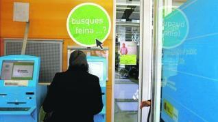 La cifra de desempleados baja en Cataluña en 8.600 personas