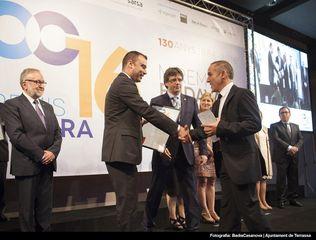 Los Premios Cambra de Terrassa reconocen el mérito de una docena de empresas locales