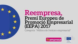 Reempresa, ganadora estatal y finalista europea de los Premios Europeos de Promoción Empresarial
