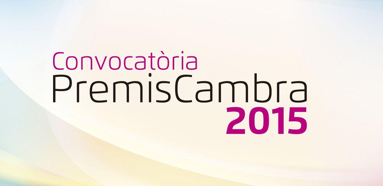 L'empresa com a motor de reactivació centrarà els Premis Cambra 2015